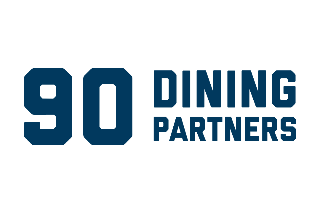 90 dining partners